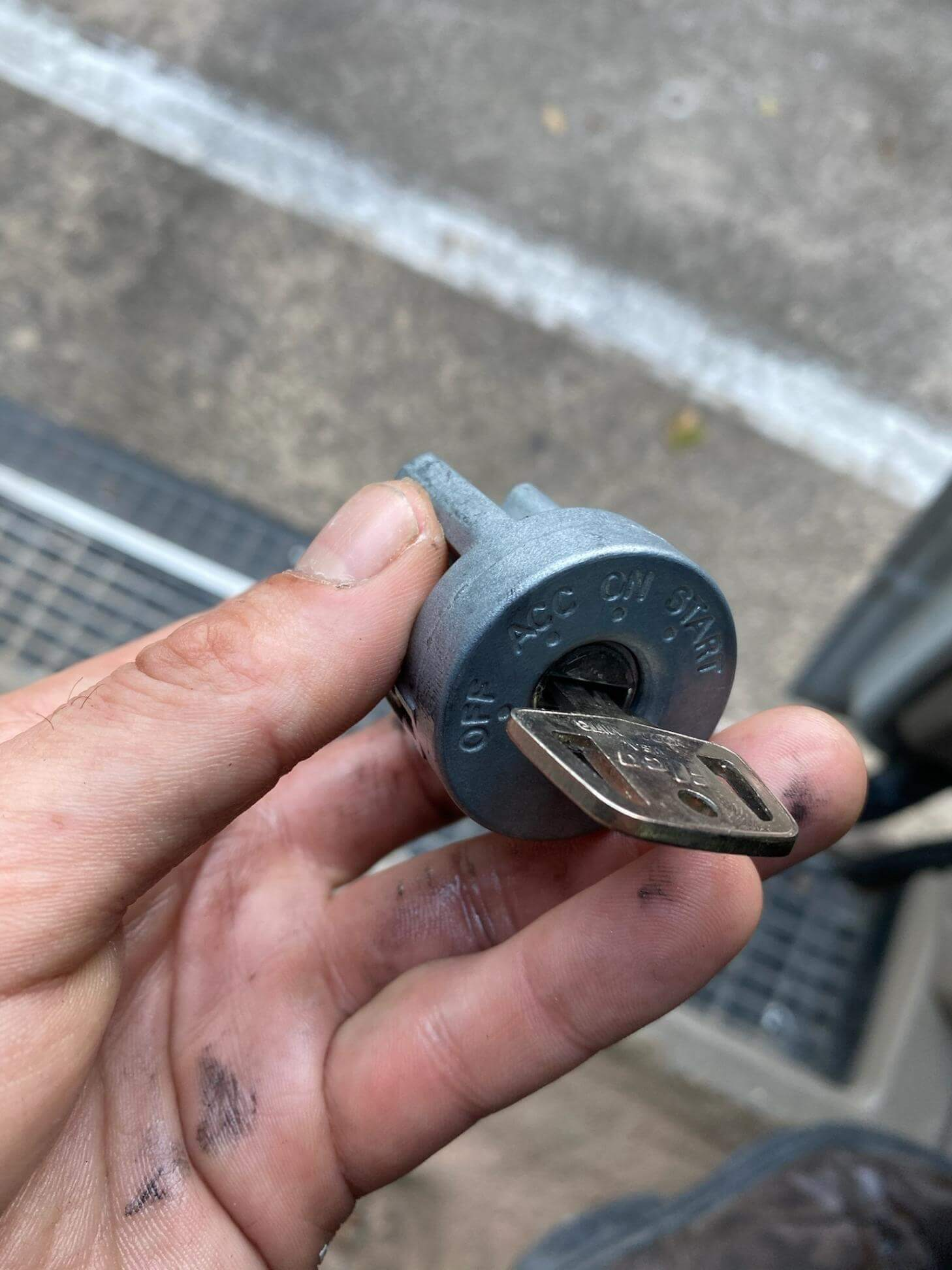 ignition switch and repair