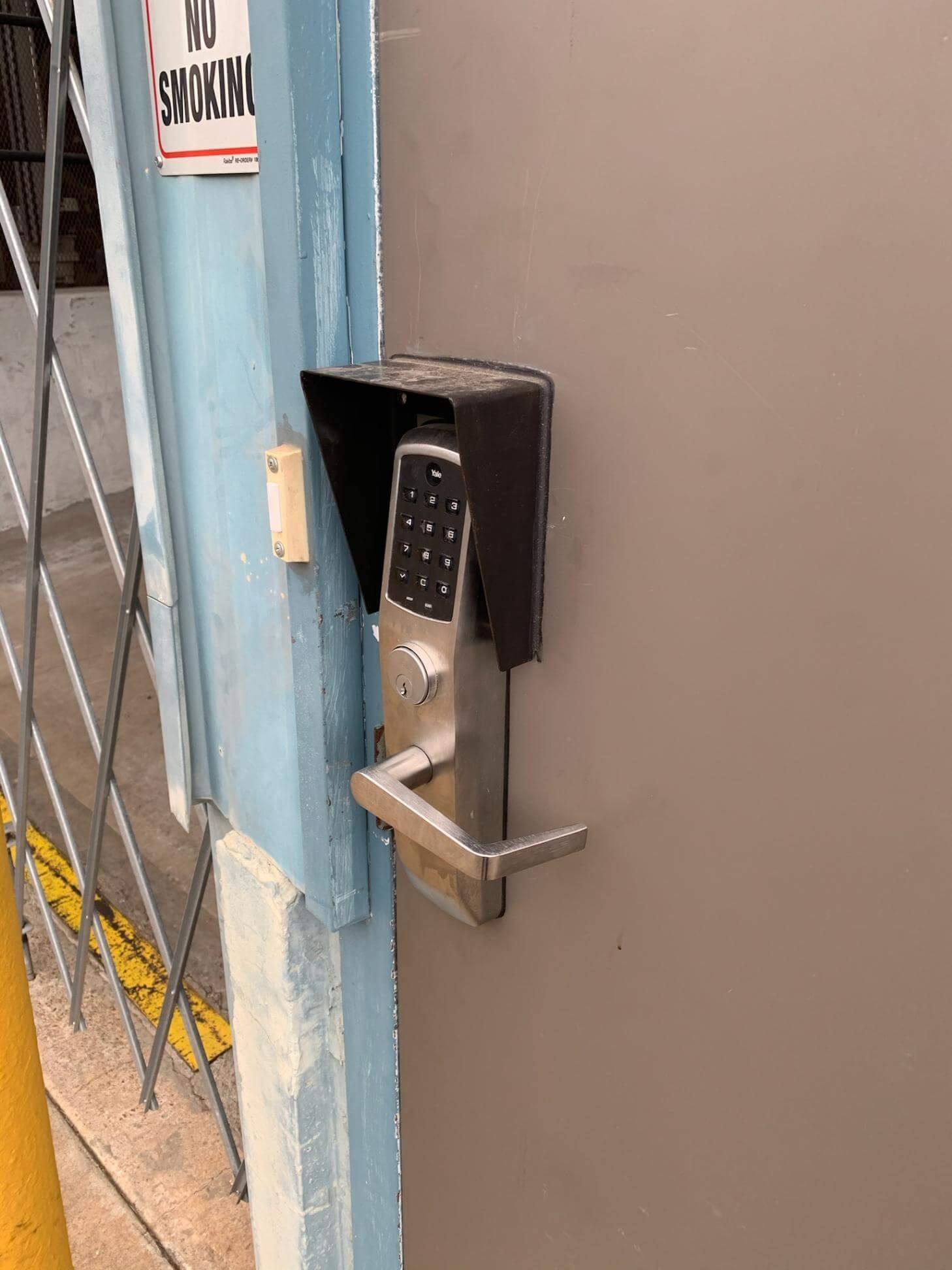 keypad installation commercial locksmith