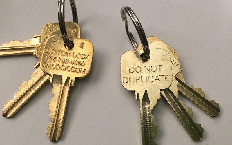 master system keys